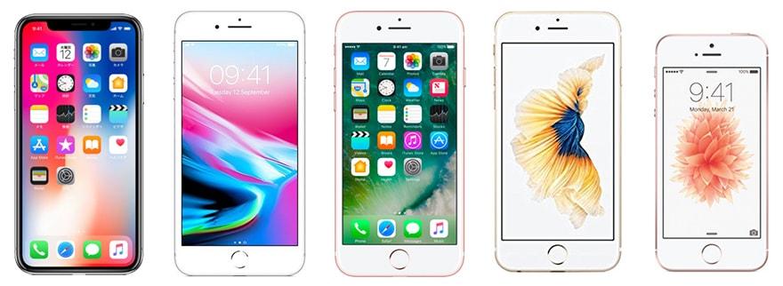 iPhoneシリーズの画像