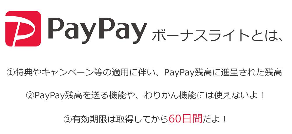 PayPayボーナスライトとは
