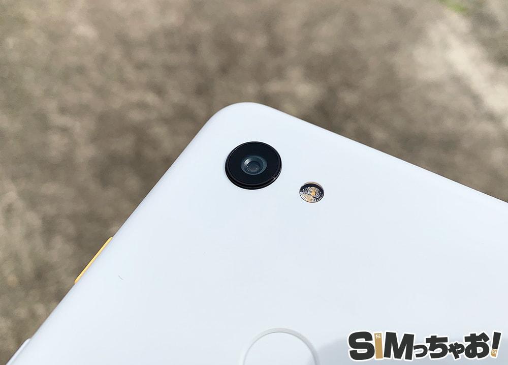 GooglePixel3aのカメラ部分の画像