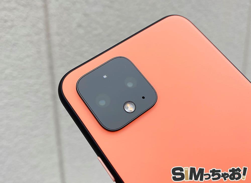 Pixel4のカメラレンズの画像