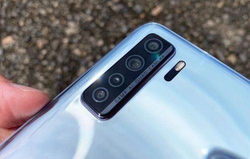 P40lite5Gのカメラ部分の画像