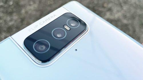 zenfone7のカメラ部分の画像